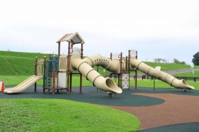 笠松町 笠松みなと公園へ行ってきた! 大型遊具や水遊び、バーベキューも無料で利用できる!?   行ってき...