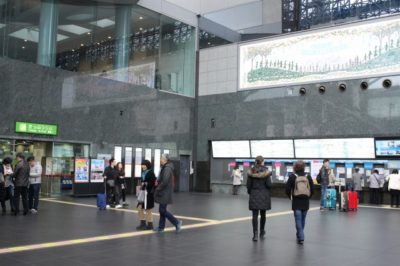 JR京都駅「中央口」改札横