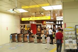 JR京都駅「八条東口」改札