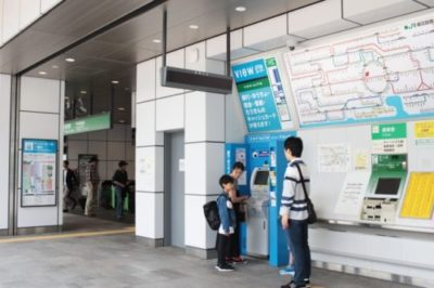 JR新宿駅「甲州街道改札」横きっぷ売り場