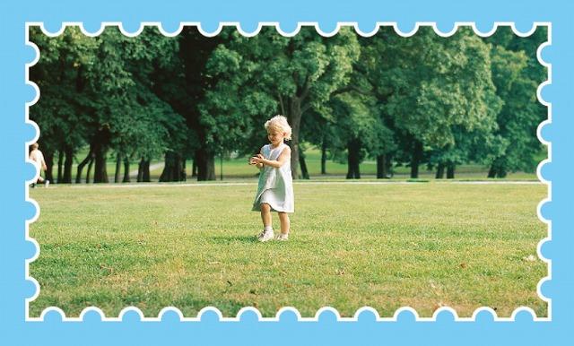イラレで画像の縁に切手のようなギザギザを入れる方法は?