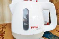 ティファールの電気ケトルを買った! 1.2L用と0.8L用との違いは?
