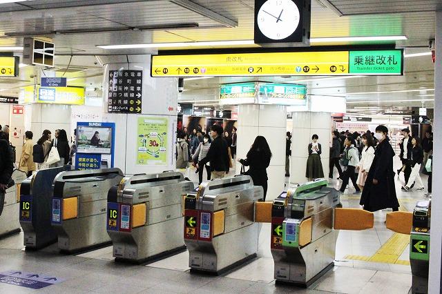 地下鉄梅田駅:わかりやすい構内図を作成、待ち合わせ場所も詳説!