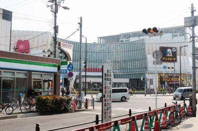 JR新今宮駅「東口」改札付近