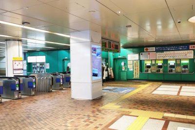 地下鉄新神戸駅(西神・山手線)「北口改札」
