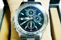 メンズ腕時計、セイコー逆輸入モデル・クロノグラフSND411P1を買った!