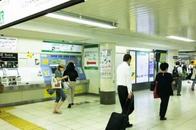 JR池袋駅「中央2改札」横