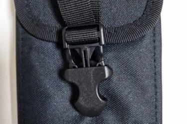 愛用のスマホケース:ズボンベルトに着けられて頑丈で安全!