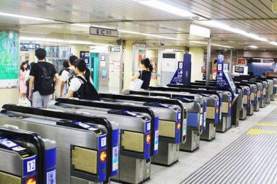 阪急神戸三宮駅の東改札口
