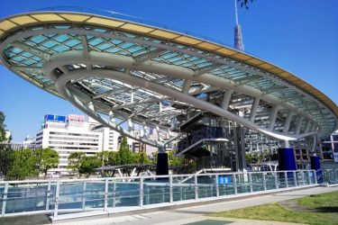 名古屋・栄の観光スポットは? オアシス21水の宇宙船、テレビ塔、観覧車