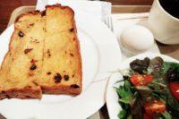 京都の有名パン屋さんで早朝モーニングカフェ! 志津屋 烏丸御池店