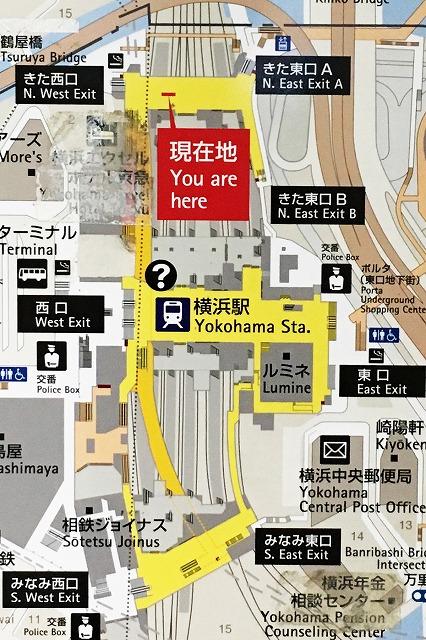 JR横浜駅全体マップ