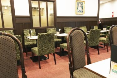 カフェ「ルノアール有楽町駅前店」でモーニングを食べた! アンティーク風の穴場カフェ