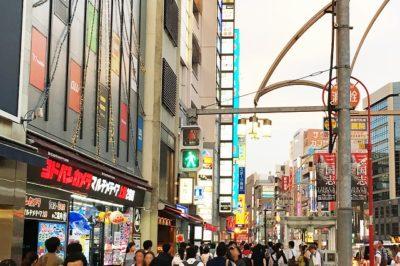 JR上野駅から「ABAB上野店」への道順