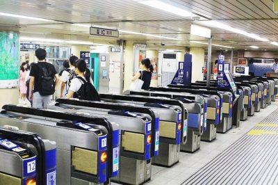 阪急神戸三宮駅「東改札口」