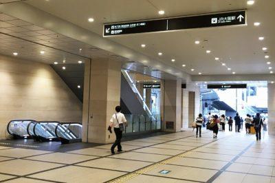 阪急大阪梅田駅から地下鉄梅田駅(御堂筋線)への道順