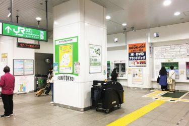 御徒町駅:わかりやすい構内図を作成、待ち合わせ場所2ヶ所も詳説!
