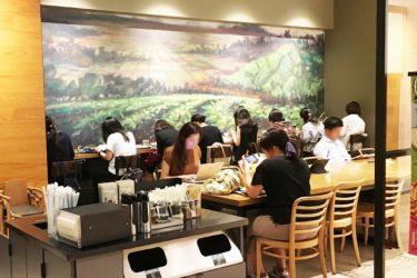 スターバックスコーヒー京橋 京阪モール店へ行ってきた! WiFi完備・電源カフェへのアクセスは?