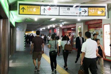 東京駅の自由通路(地上):八重洲側⇔丸の内側のアクセスは?