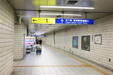JR海老江駅から地下鉄野田阪神駅(千日前線)へのアクセスは?